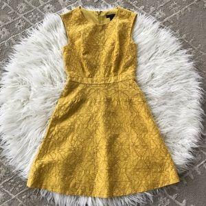 J.Crew Mustard Color Dress (Size 00)